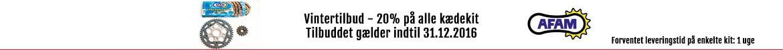 AFAM vintertilbud - minus 20% på kædekit